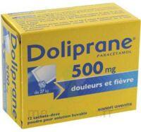 DOLIPRANE 500 mg Poudre pour solution buvable en sachet-dose B/12 à MONTPELLIER