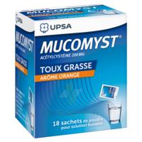 MUCOMYST 200 mg Poudre pour solution buvable en sachet B/18 à MONTPELLIER