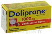 DOLIPRANE 1000 mg Comprimés effervescents sécables T/8 à MONTPELLIER