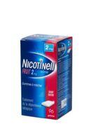 NICOTINELL FRUIT 2 mg SANS SUCRE, gomme à mâcher médicamenteuse P/96 à MONTPELLIER