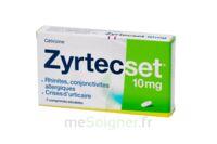 ZYRTECSET 10 mg, comprimé pelliculé sécable à MONTPELLIER