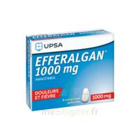 Efferalgan 1000 mg Comprimés pelliculés Plq/8 à MONTPELLIER