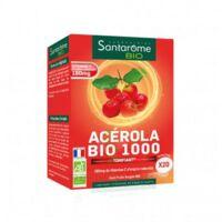 Santarome Bio Acérola 1000 Comprimés à croquer 2T/10 à MONTPELLIER