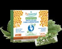 Puressentiel Respiratoire Pastilles Respiratoire aux 3 miels aromatiques - 18 pastilles à MONTPELLIER