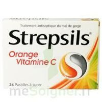 STREPSILS ORANGE VITAMINE C, pastille à MONTPELLIER