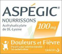ASPEGIC NOURRISSONS 100 mg, poudre pour solution buvable en sachet-dose à MONTPELLIER