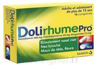 DOLIRHUMEPRO PARACETAMOL, PSEUDOEPHEDRINE ET DOXYLAMINE, comprimé à MONTPELLIER