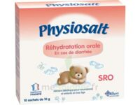 PHYSIOSALT REHYDRATATION ORALE SRO, bt 10 à MONTPELLIER