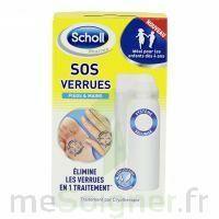 Scholl SOS Verrues traitement pieds et mains à MONTPELLIER