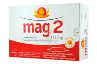 MAG 2 122 mg S buv en ampoule sans sucre édulcoré à la saccharine sodique 30Amp/10ml à MONTPELLIER