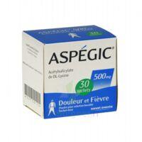 ASPEGIC 500 mg, poudre pour solution buvable en sachet-dose 30 à MONTPELLIER
