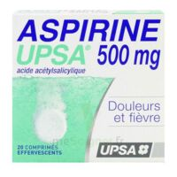 ASPIRINE UPSA 500 mg, comprimé effervescent à MONTPELLIER