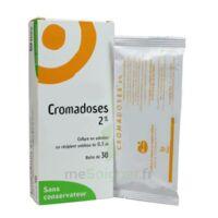 CROMADOSES 2 POUR CENT, collyre en solution en récipient unidose à MONTPELLIER