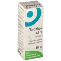 FLUIDABAK 1,5 %, collyre en solution à MONTPELLIER