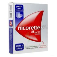 Nicoretteskin 25 mg/16 h Dispositif transdermique B/28 à MONTPELLIER