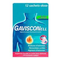 GAVISCONELL Suspension buvable sachet-dose menthe sans sucre 12Sach/10ml à MONTPELLIER