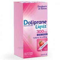 Dolipraneliquiz 300 mg Suspension buvable en sachet sans sucre édulcorée au maltitol liquide et au sorbitol B/12 à MONTPELLIER