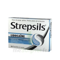 Strepsils lidocaïne Pastilles Plq/24 à MONTPELLIER