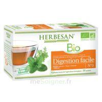 Herbesan Infusion Bio Tisane digestion facile 20 Sachets à MONTPELLIER