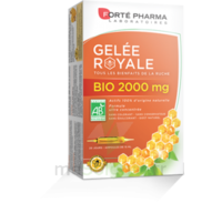 Forte Pharma Gelée royale bio 2000 mg Solution buvable 20 Ampoules/15ml à MONTPELLIER