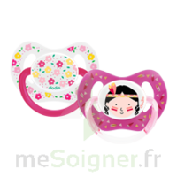 Dodie Duo Sucette anatomique silicone +18mois Girly à MONTPELLIER