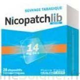 NICOPATCHLIB 14 mg/24 h Dispositifs transdermiques B/7 à MONTPELLIER