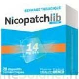 NICOPATCHLIB 14 mg/24 h Dispositifs transdermiques B/28 à MONTPELLIER