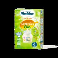 Modilac Céréales Farine 5 Céréales bio à partir de 6 mois B/230g à MONTPELLIER