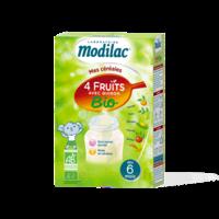 Modilac Céréales Farine 4 Fruits quinoa bio à partir de 6 mois B/230g à MONTPELLIER