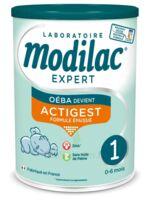 Modilac Expert Actigest 1 Lait poudre B/800g à MONTPELLIER