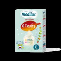Modilac Céréales Farine 6 Fruits à partir de 8 mois B/300g à MONTPELLIER