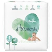 Pampers Harmonie Couche T1 jumbo paquet/68 à MONTPELLIER